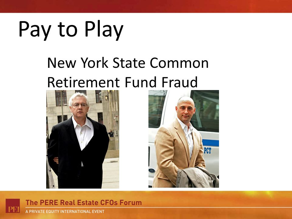 New York State Common Retirement Fund Fraud