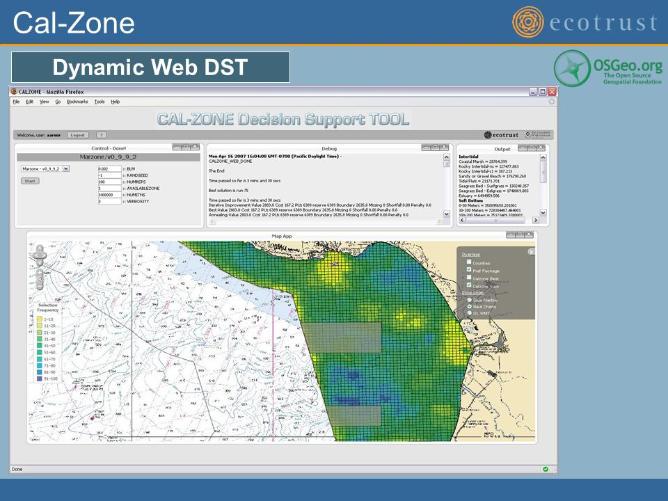Cal-Zone Dynamic Web DST