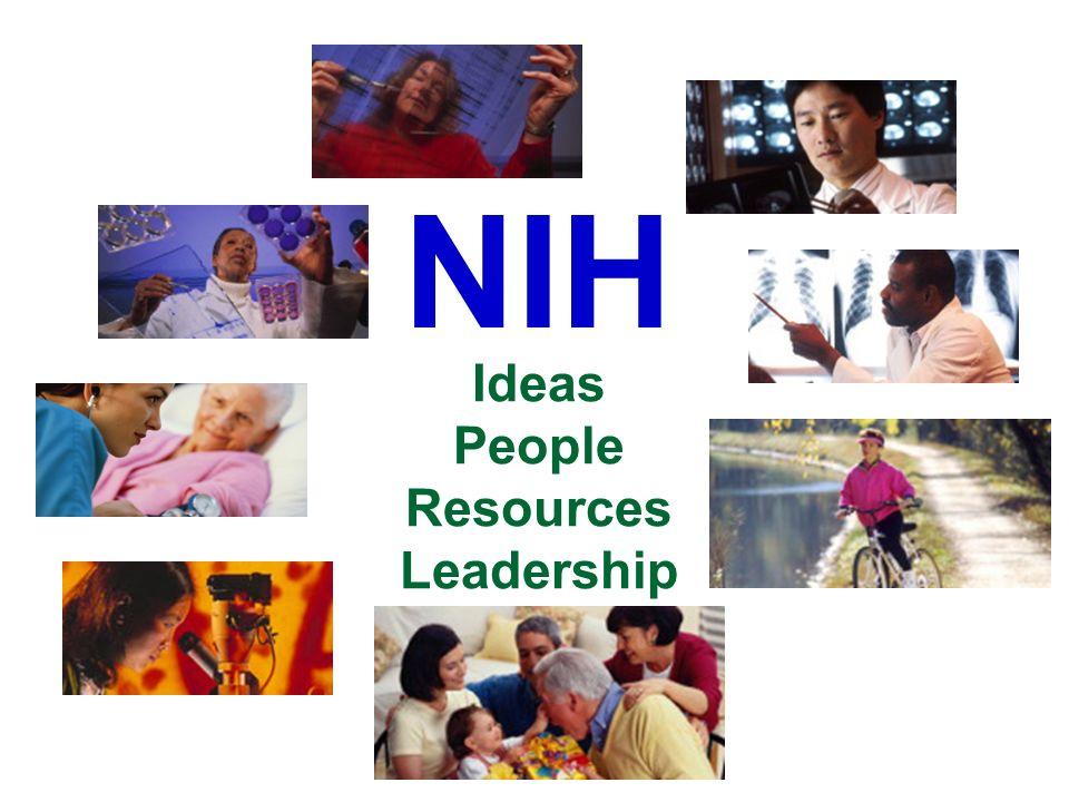 Ideas People Resources Leadership NIH