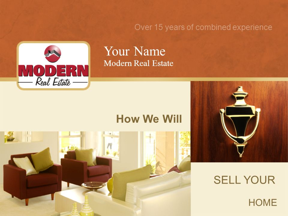 The Sale of Your Home Is Important to Me.