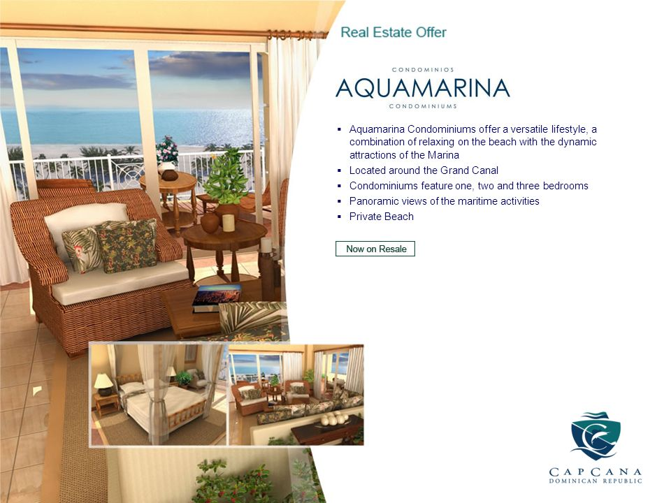 Aquamarina Condominiums offer a versatile lifestyle, a combination of relaxing on the beach with the dynamic attractions of the Marina Located around