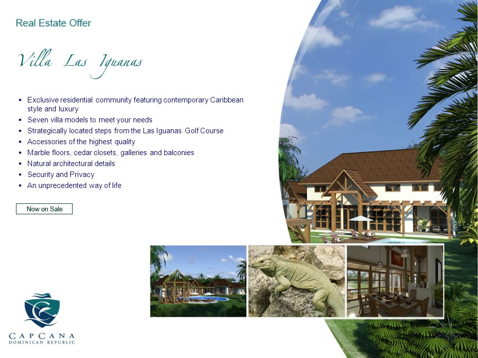 Exclusive residential community featuring contemporary Caribbean style and luxury Seven villa models to meet your needs Strategically located steps fr