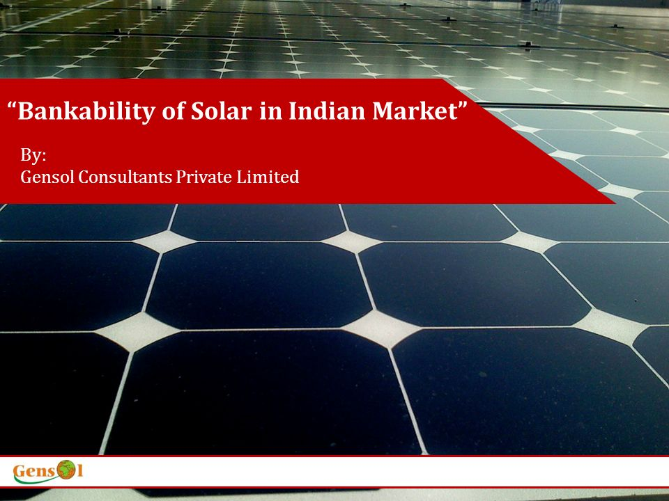 Clients Gensol Consultants, an ISO 19001:2000 certified company is a pioneer in Renewable Energy and Carbon Advisory.