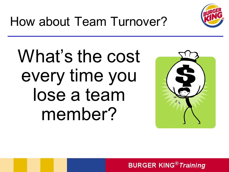 Whats the cost every time you lose a team member? How about Team Turnover?