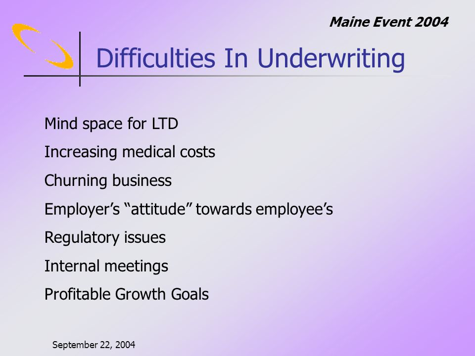 September 22, 2004 Maine Event 2004 Multi-player Games Any solution is unstable.
