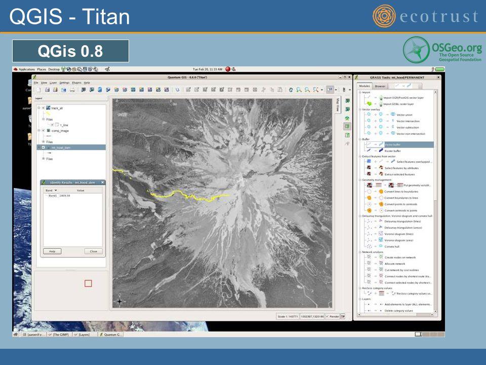 QGIS - Titan QGis 0.8