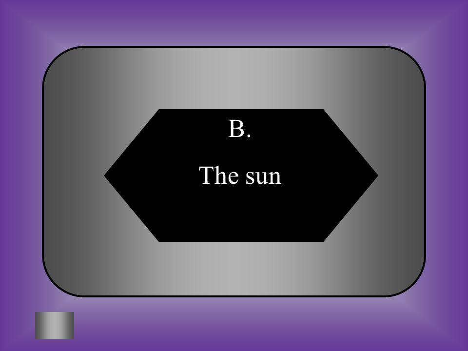 A:B: watersun The source of energy for most autotrophs is C:D: heterotrophsOther autotrophs