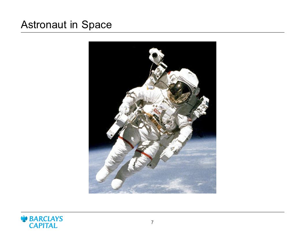 Astronaut in Space 7
