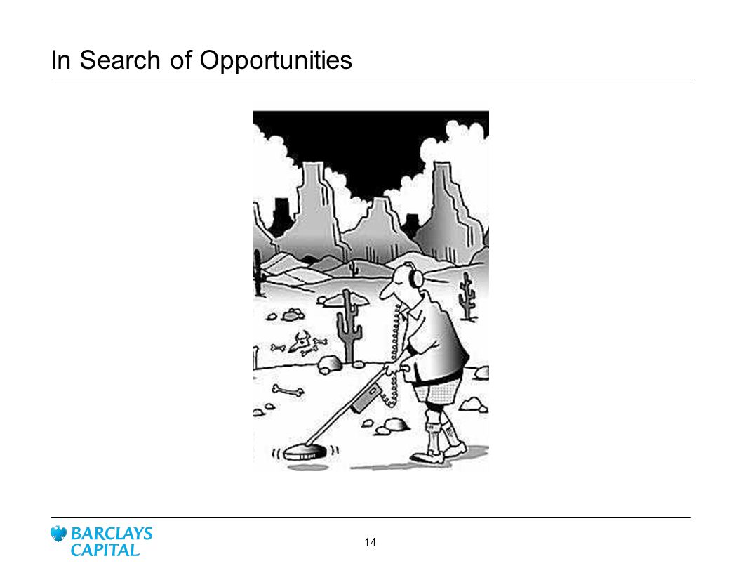 In Search of Opportunities 14