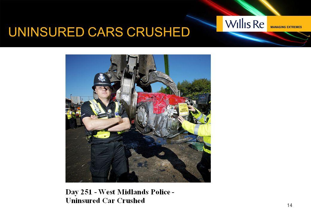 UNINSURED CARS CRUSHED 14