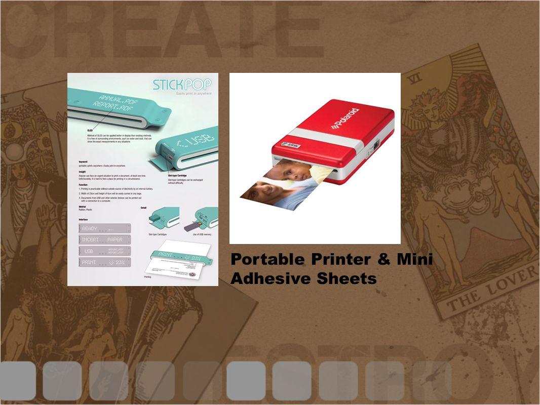 Scenario/Paper prototype -Similar to the Listening Typewriter.