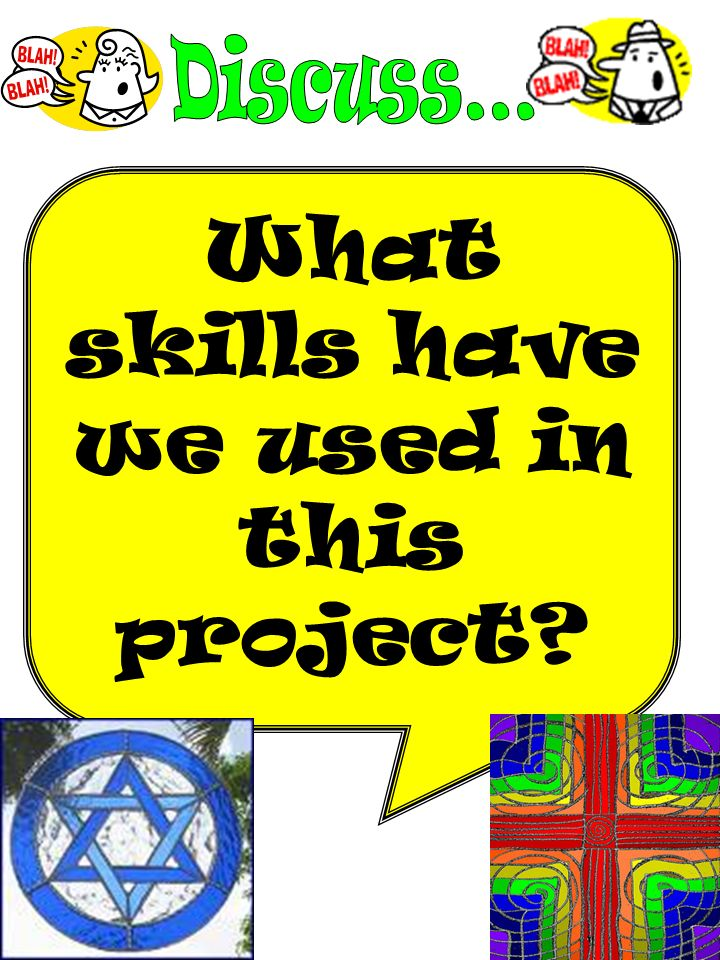 What skills have we used in this project?