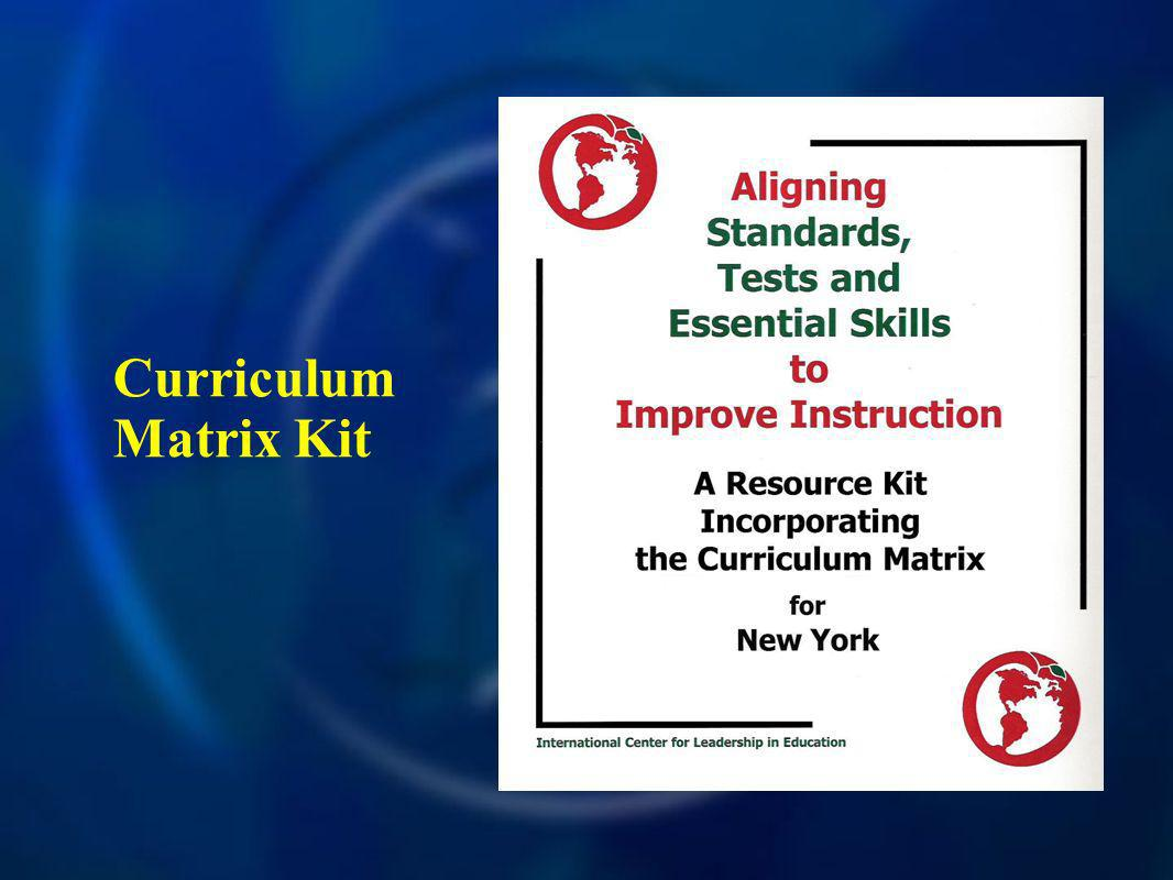 Curriculum Matrix Kit
