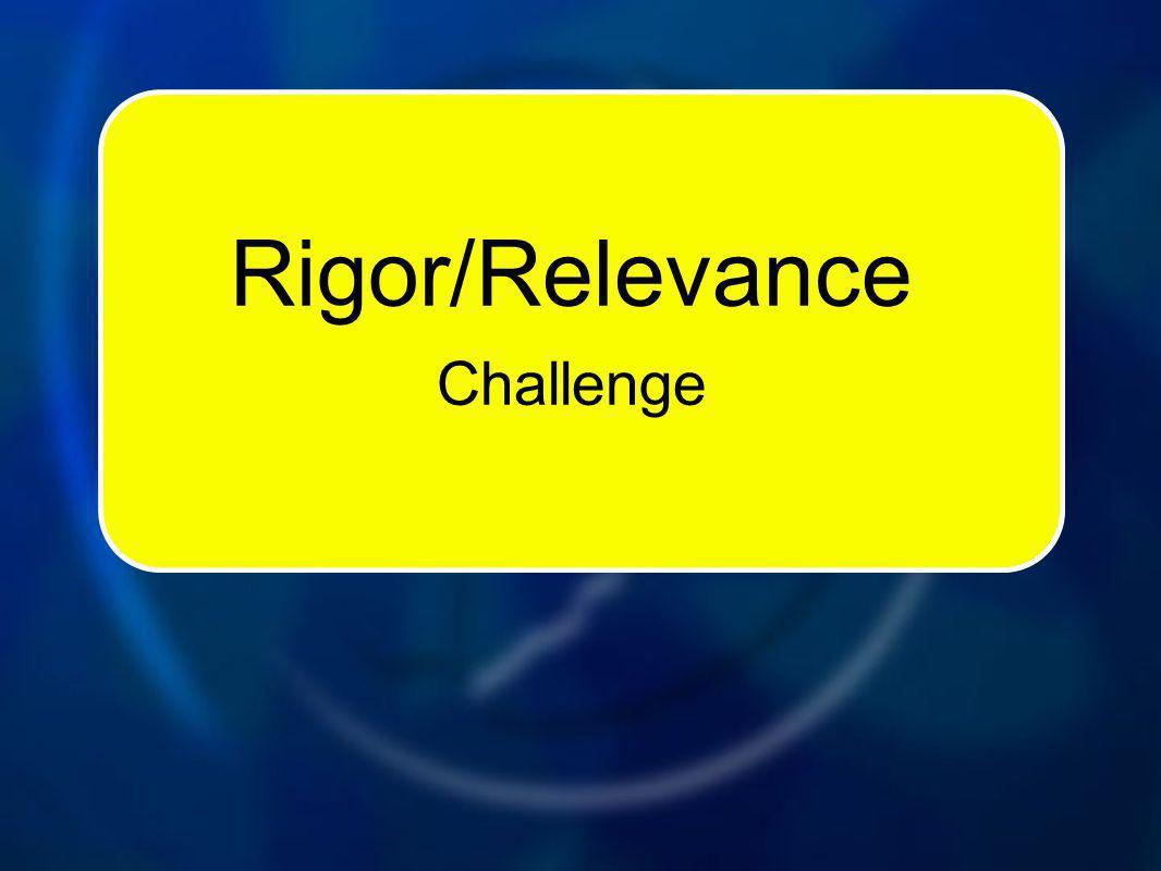 Rigor/Relevance Challenge