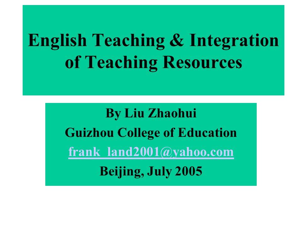 I.New National Curriculum Standard A.