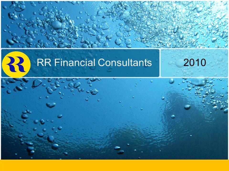 RR Financial Consultants Ltd Group Presentation Private & Confidential RR Financial Consultants 2010