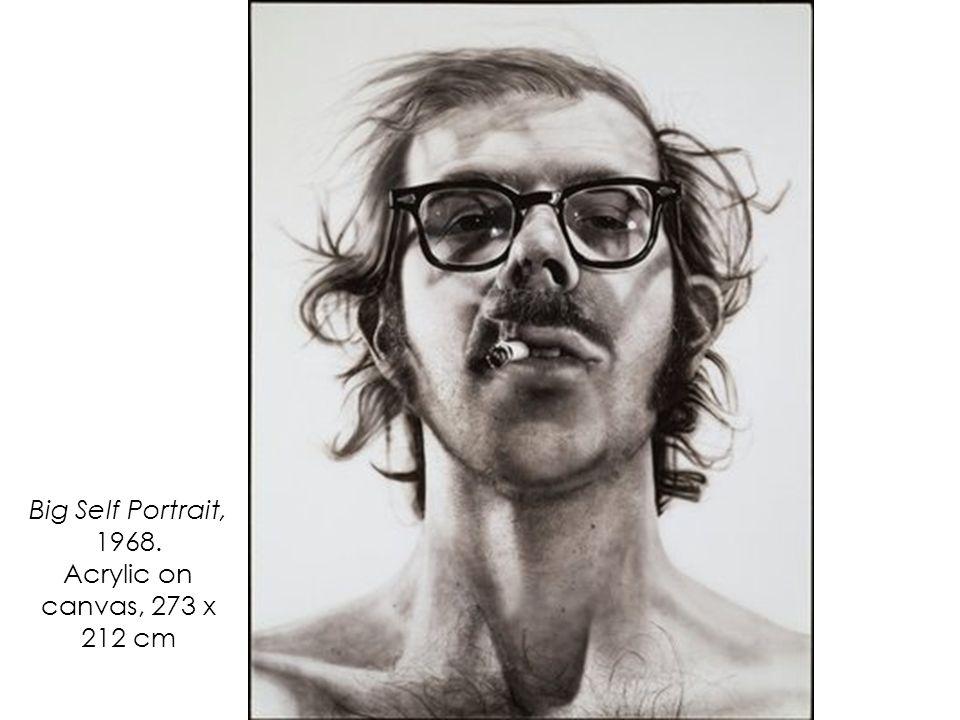 Big Self Portrait, 1968. Acrylic on canvas, 273 x 212 cm
