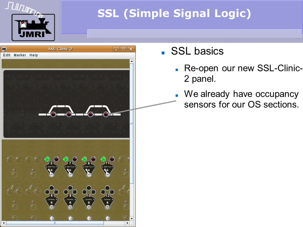SSL (Simple Signal Logic) Signal head basics Dig through the various images to get a set of short signals with white backgrounds.