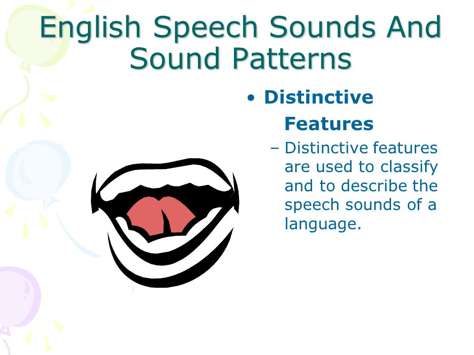 Completion of Phonetic Inventory Reasons why childrens speech does not sound like an adults even after acquisition of the phonetic inventory: –Children speak slower and with greater variability in pronunciation and timing.