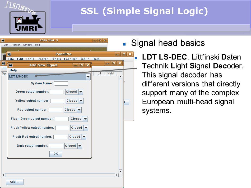SSL (Simple Signal Logic) Signal head basics LDT LS-DEC. Littfinski Daten Technik Light Signal Decoder. This signal decoder has different versions tha