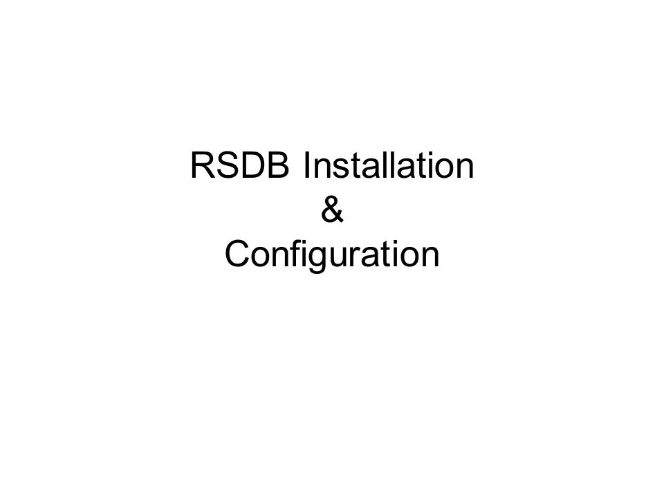 Now run the RSDB installer. Double click the file named [DTTM]_Install_Survey_Server.exe