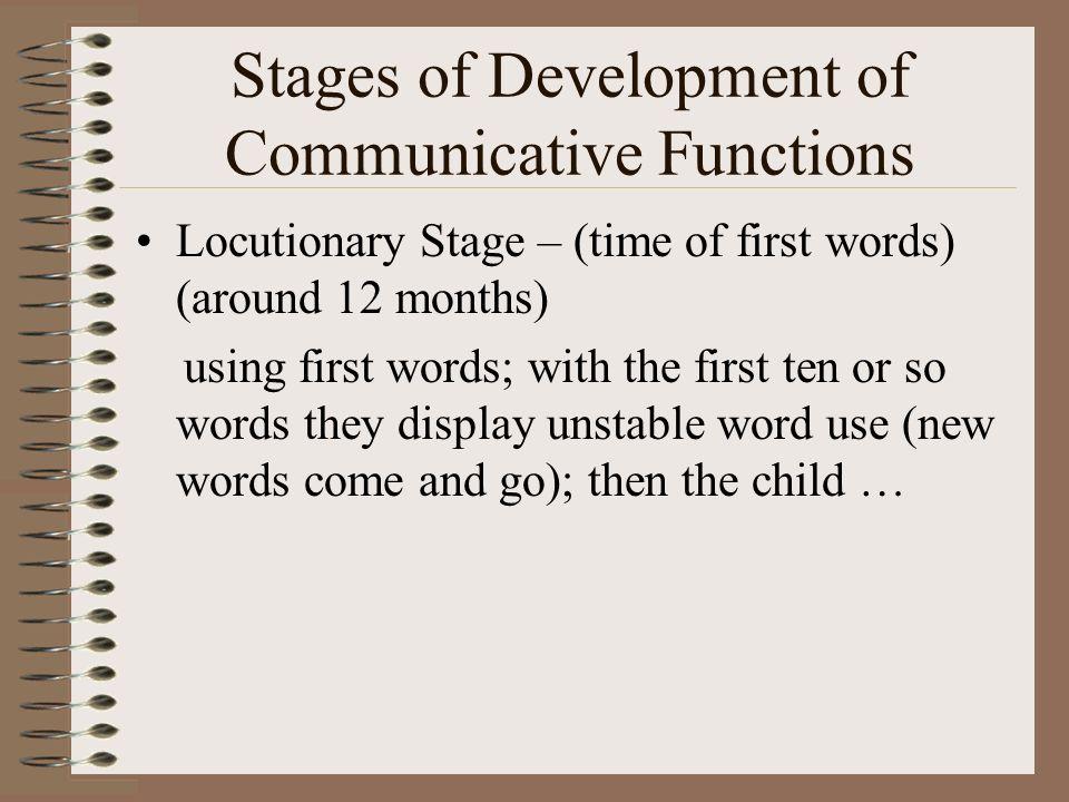 Later Semantic Development C.