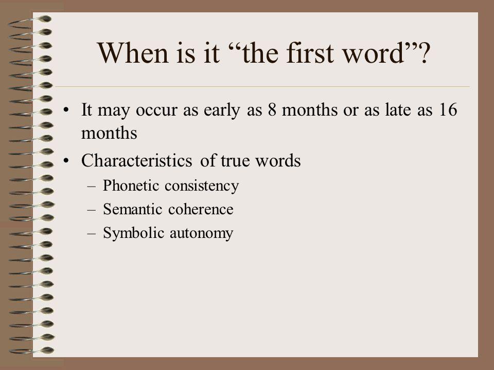 Later Semantic Development D.