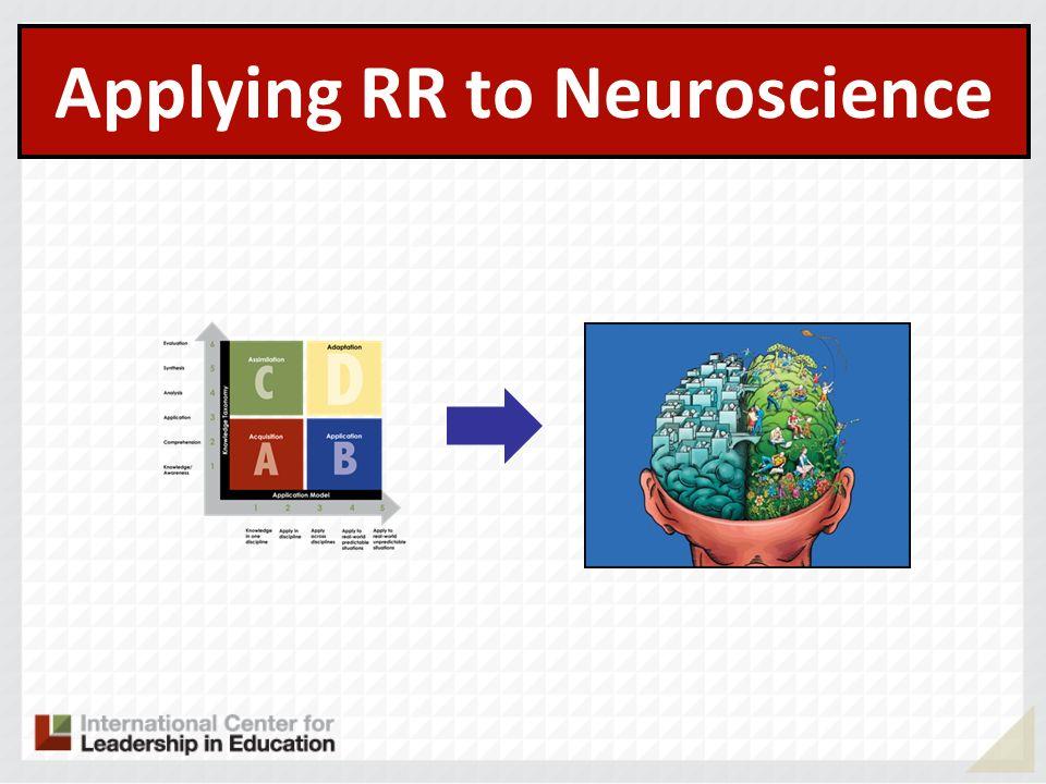 Applying RR to Neuroscience