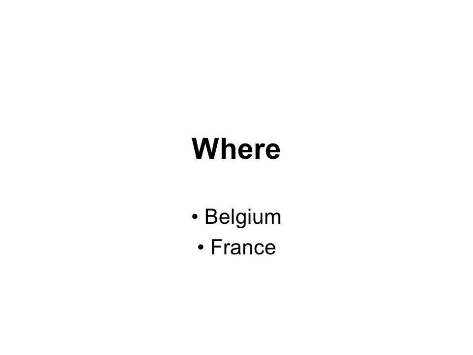 Where Belgium France