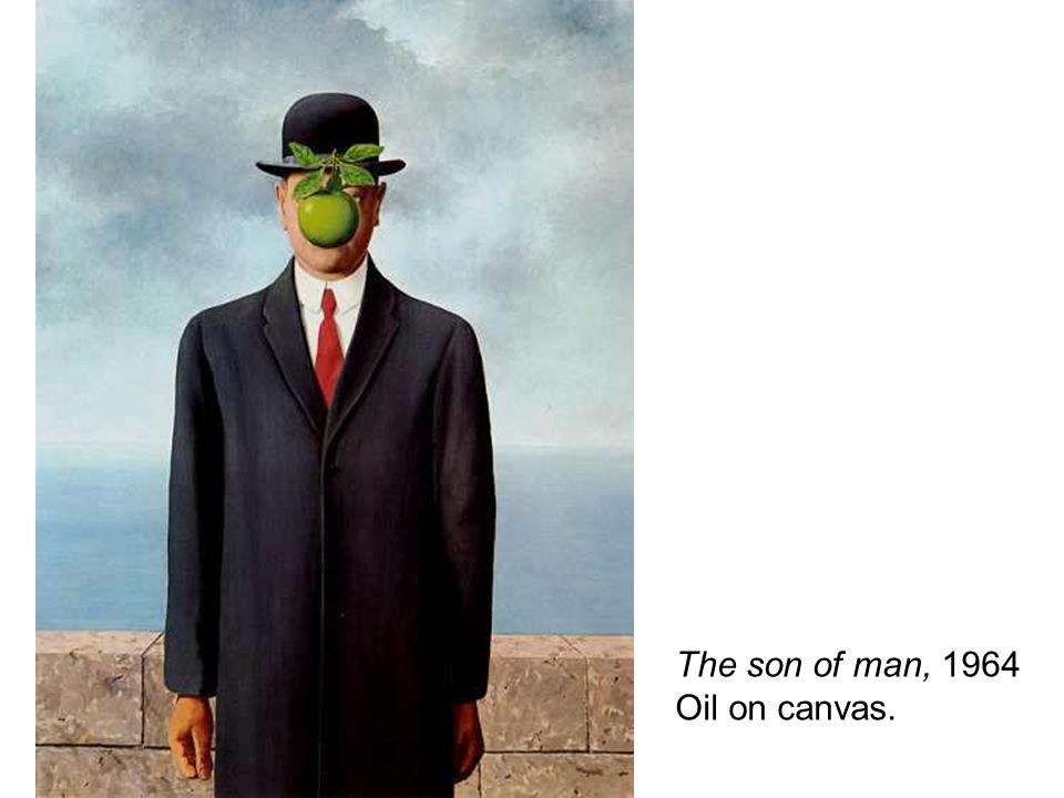 The son of man, 1964 Oil on canvas.