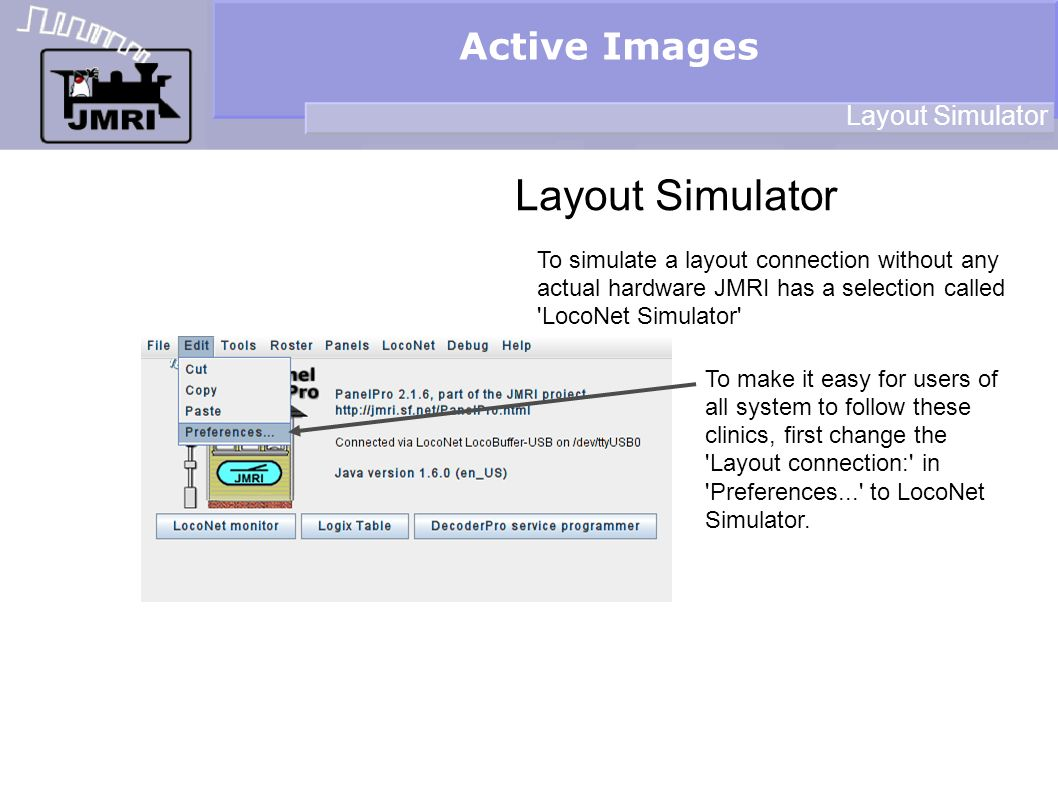 Active Images Control Positioning the icons Now enter LT2, LT3, and LT4 in the same way that we just did for LT1.