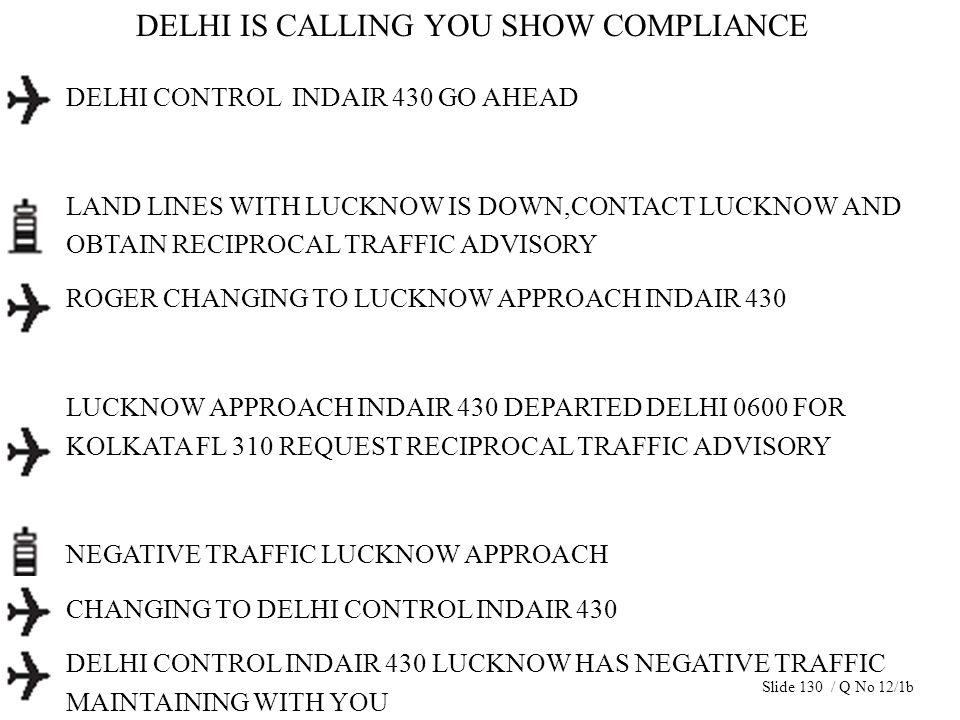 DELHI IS CALLING YOU SHOW COMPLIANCE DELHI CONTROL INDAIR 430 GO AHEAD LAND LINES WITH LUCKNOW IS DOWN,CONTACT LUCKNOW AND OBTAIN RECIPROCAL TRAFFIC A