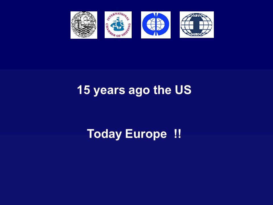 15 years ago the US Today Europe !!