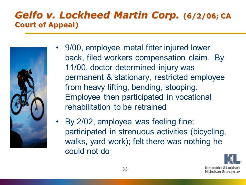 33 Gelfo v.Lockheed Martin Corp.