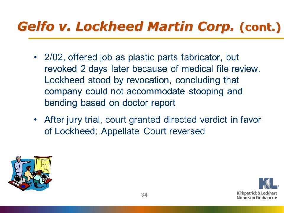 34 Gelfo v.Lockheed Martin Corp.