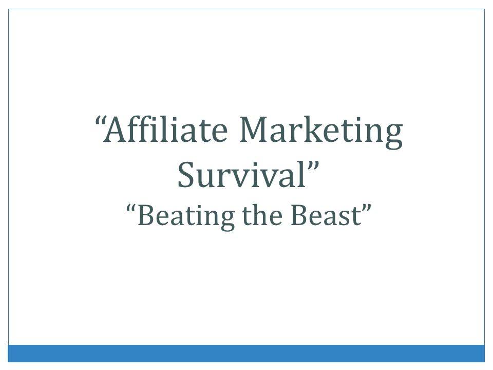 What Is Affiliate Marketing.