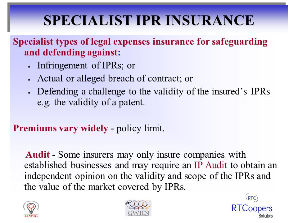 WHY SPECIALIST INSURANCE POLICIES.