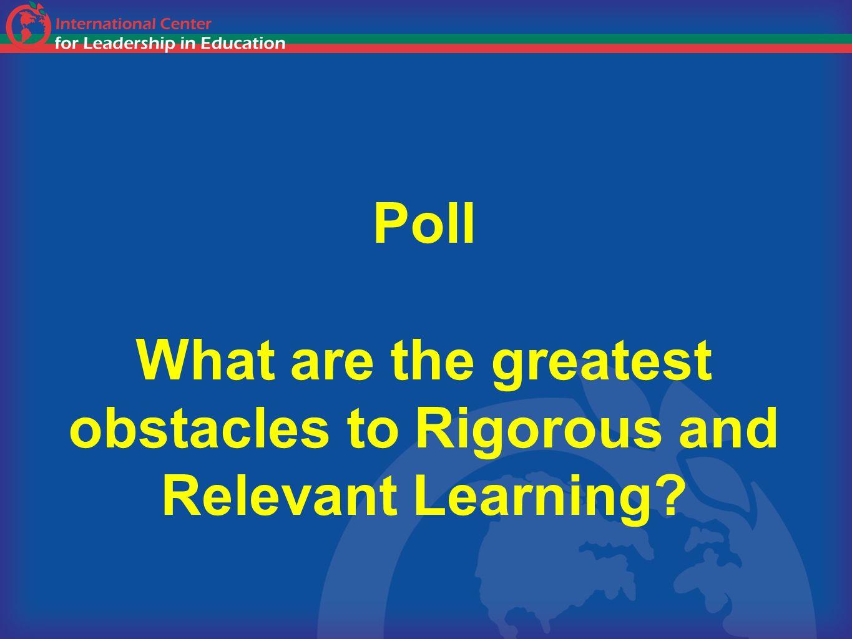 10 RIGORRIGORRIGORRIGOR RELEVANCE Rigor/Relevance Framework High HighLow Low TeacherWork StudentThink Student Think & Work StudentWork