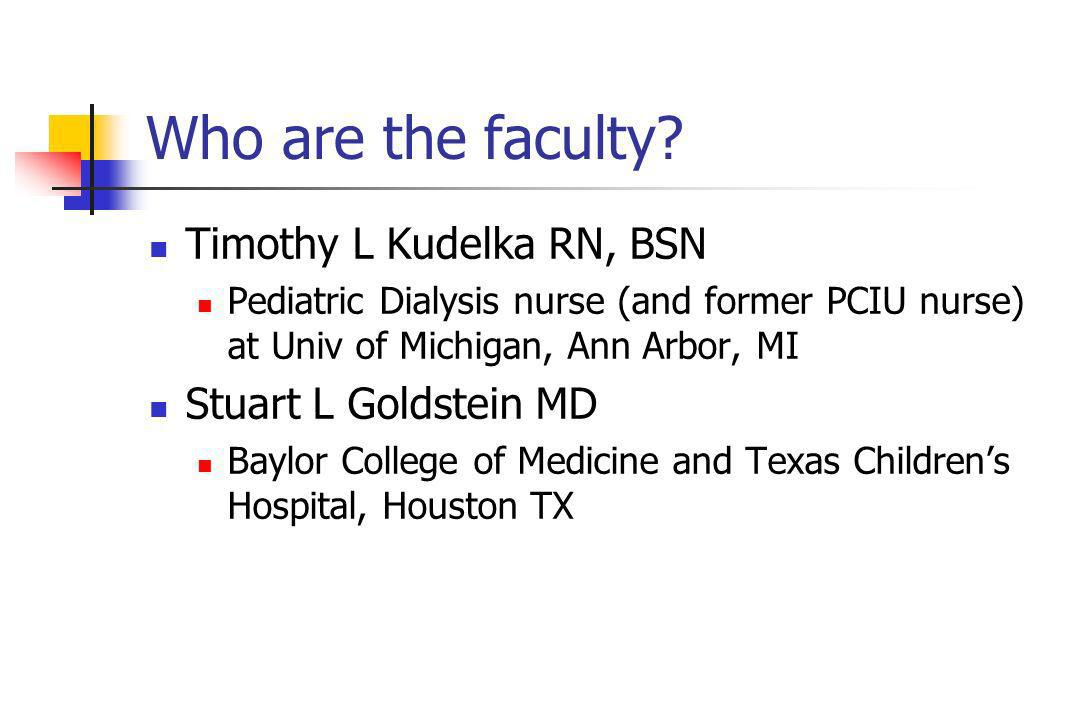 Who are the faculty.