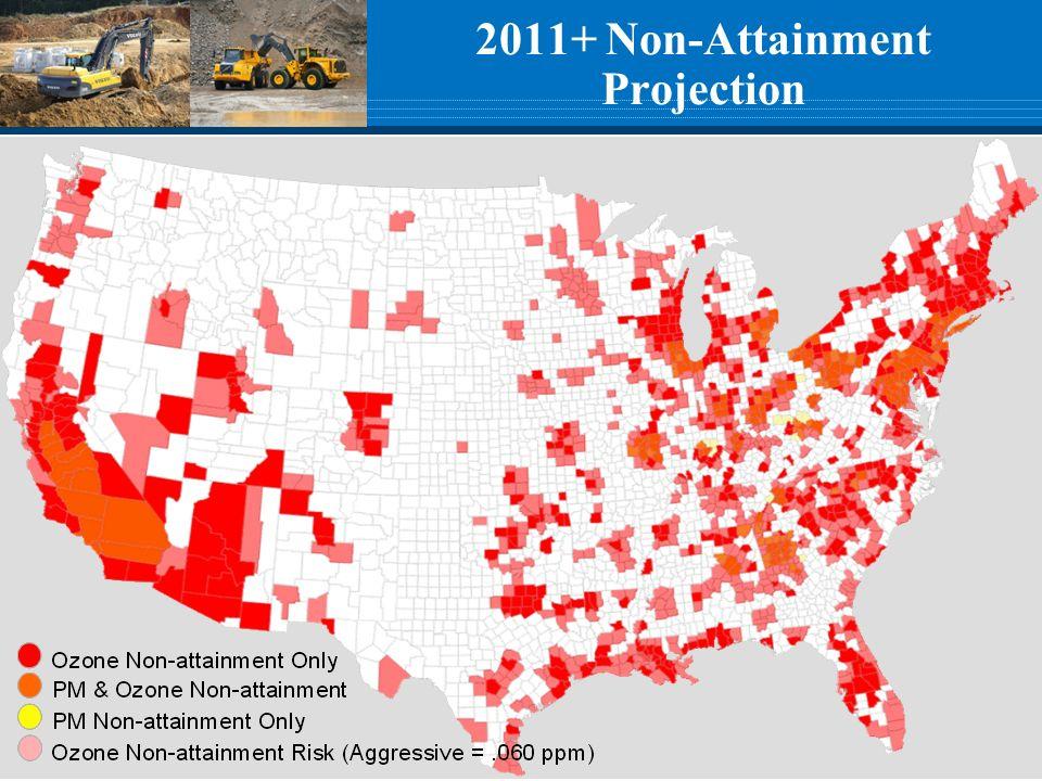 2011+ Non-Attainment Projection