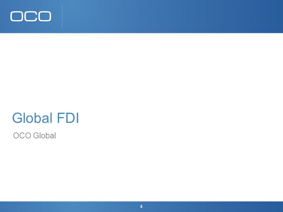 4 Global FDI OCO Global