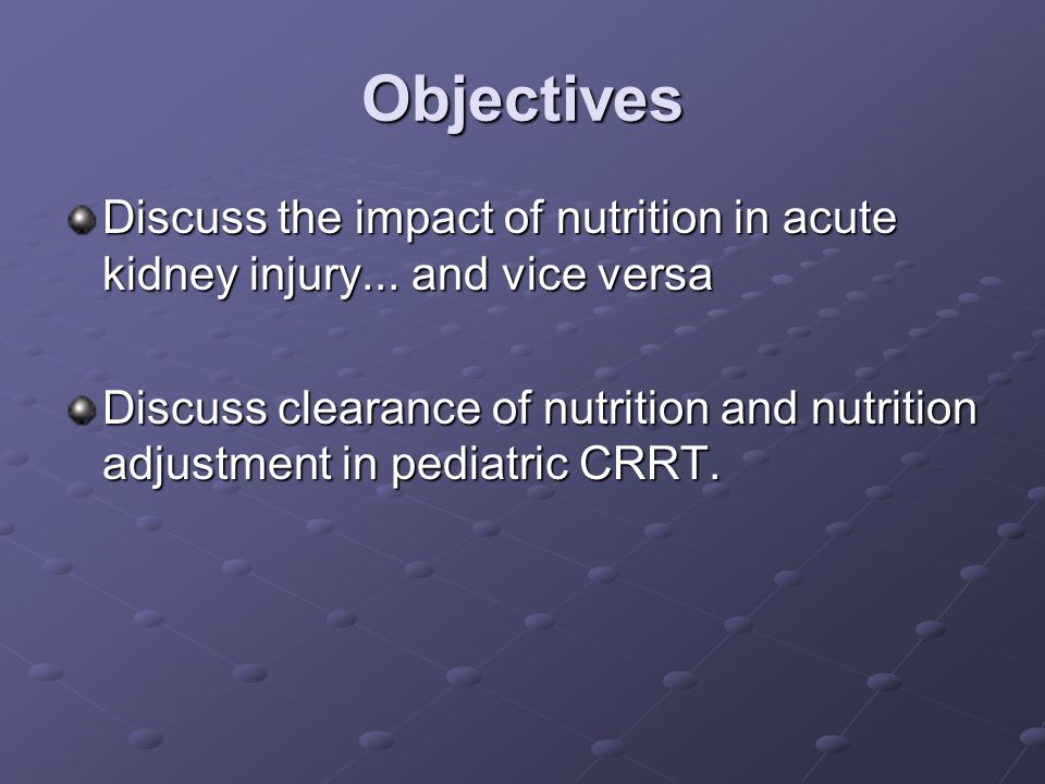 Carbohydrates Patients become hyperglycemic.Insulin resistance, hepatic gluconeogenesis.