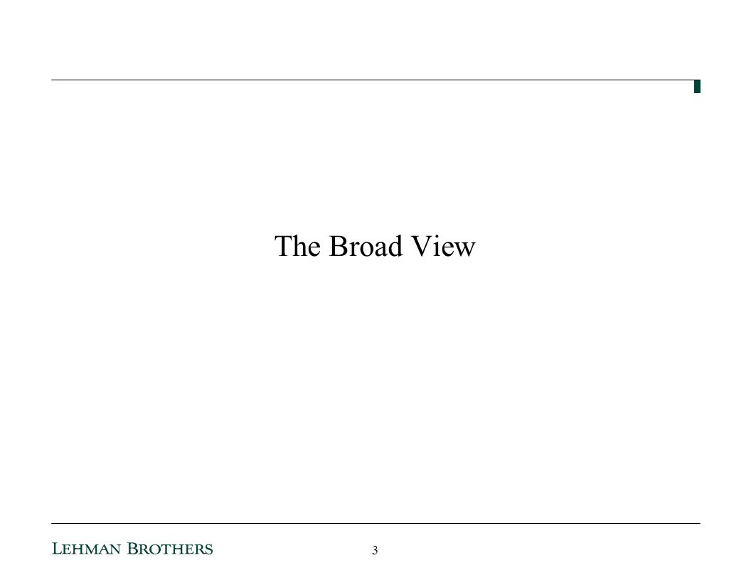 The Broad View 3