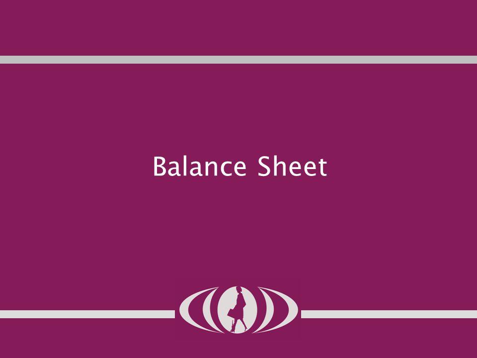 12 Balance Sheet