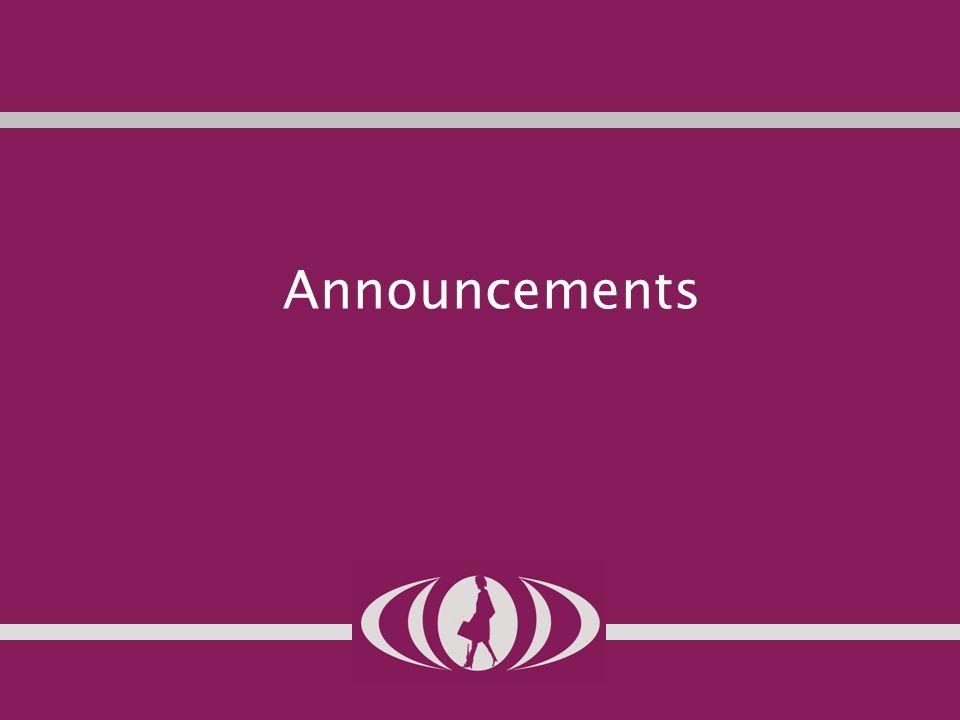 2 Announcements