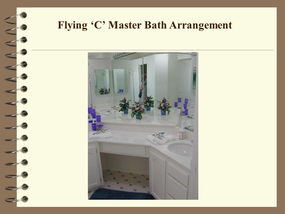 Flying C Master Bath Arrangement