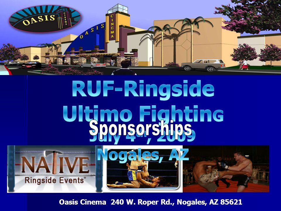 Oasis Cinema 240 W. Roper Rd., Nogales, AZ 85621