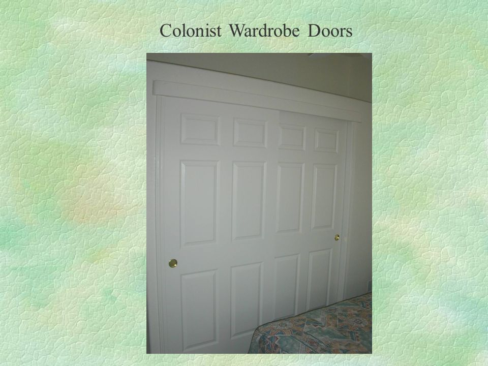 Colonist Wardrobe Doors