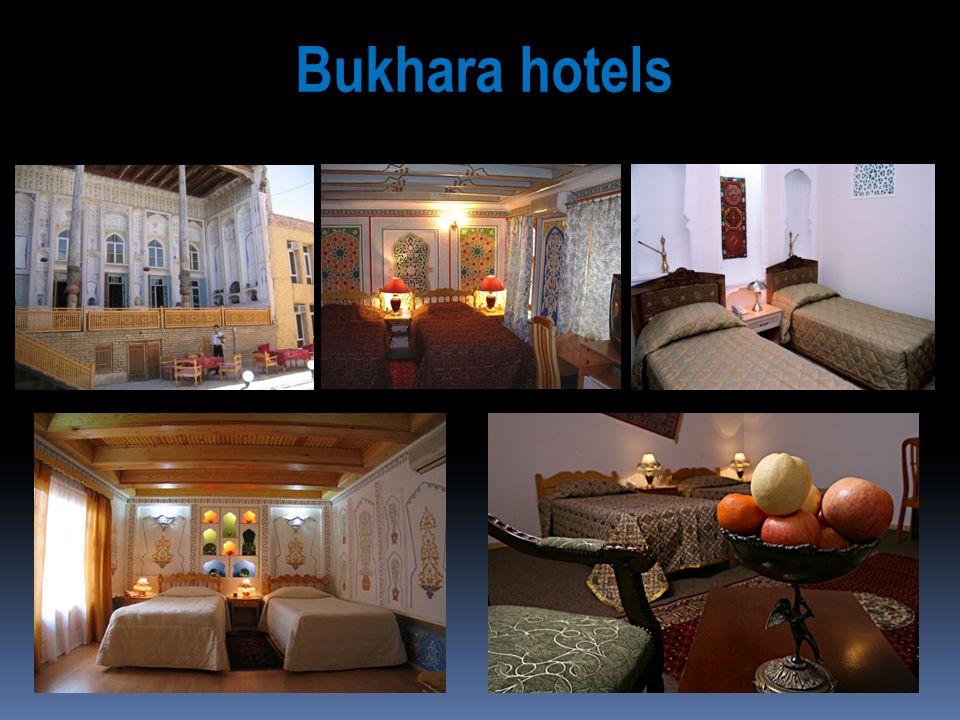 Bukhara hotels