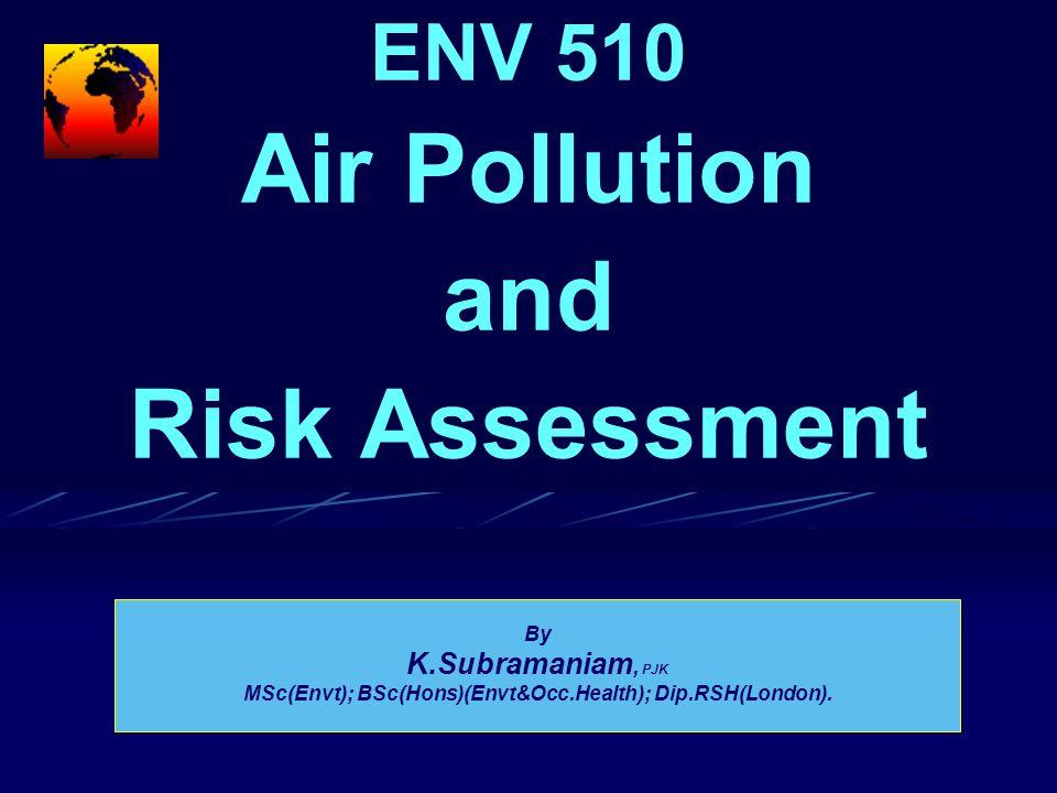 Ambient Air Data And Monitoring